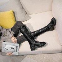 boots female knee length boots