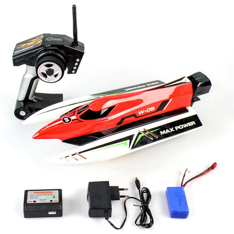 RC Boat Wltoys WL915 2.4Ghz Machine Radio Controlled Boat Brushless Motor High Speed 45km/h Racing R