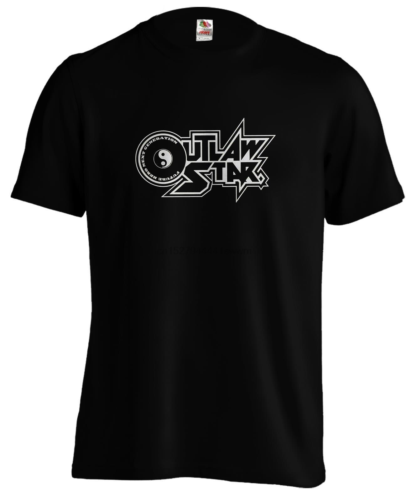 Camiseta de Manga de Anime con Logo de Gener Starwind DE LA ESTRELLA DE outley suelto tamaño
