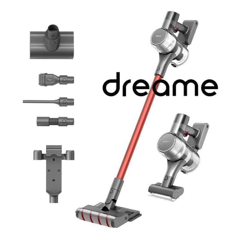 الأصلي dreame T20 مكنسة كهربائية مع خزان المياه وملحقات ممسحة