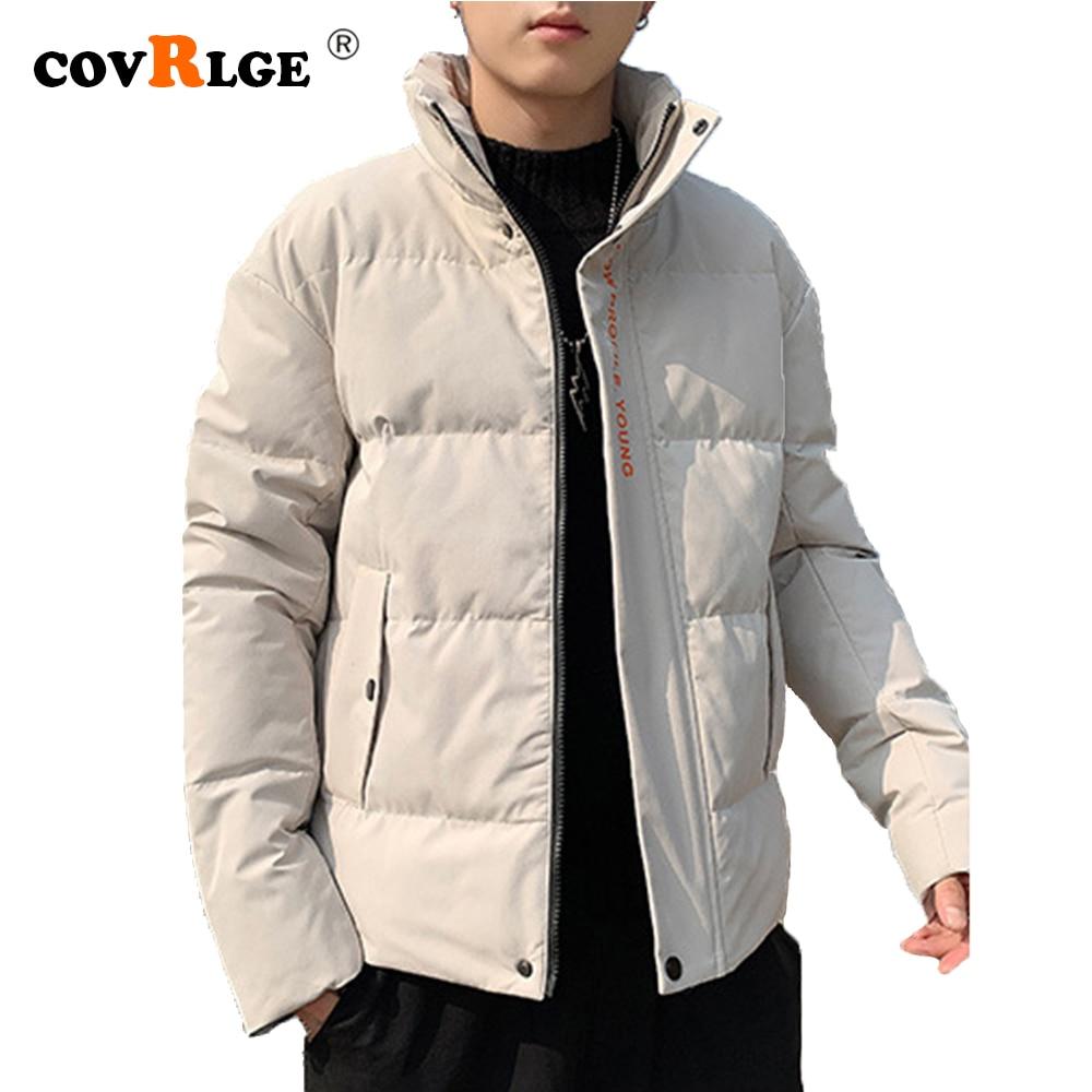 Зимние пальто Covrlge, модная городская зимняя новая стильная стеганая куртка в Корейском стиле, молодежная повседневная короткая стеганая ку...