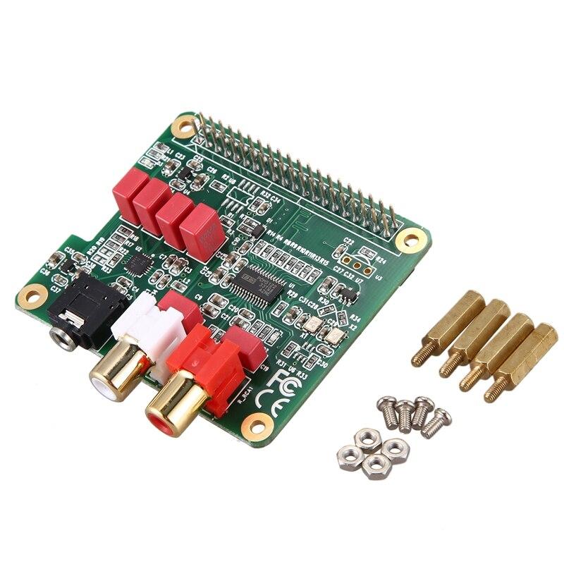 PCM5122 for Raspberry Pi HiFi DAC HAT HiFi DAC Audio Card Expansion Board for Raspberry Pi 4 3 B+ Pi Zero W