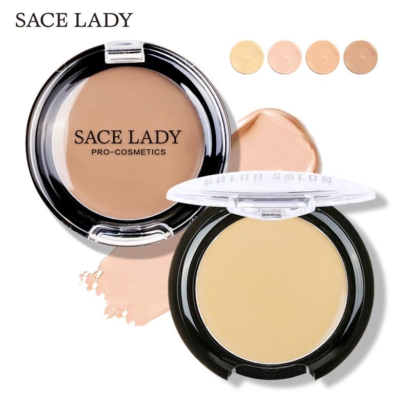 SACE LADY concealer full cover cream facial makeup waterproof foundation face contour makeup pores corrector matte hide blemish недорого