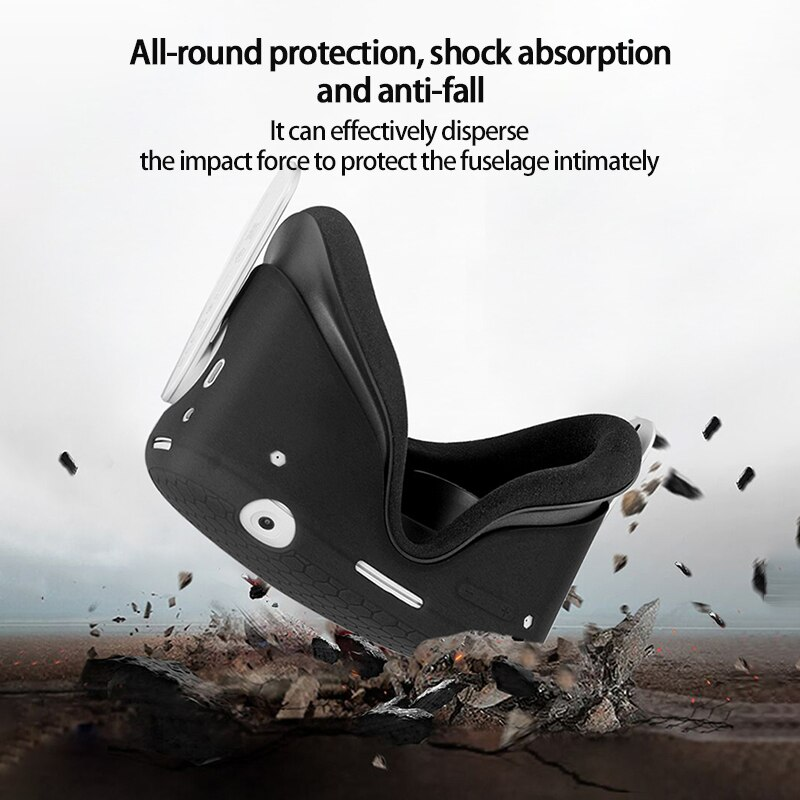 Silicone Protective Cover Shell Case For Oculus Quest 2 VR Headset Head Cover Anti-Scratches For Oculus Quest 2 VR Accessories enlarge