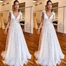 Summer fashion women's lace deep V sleeveless, star embroidery pattern, thin waist wedding dress fem