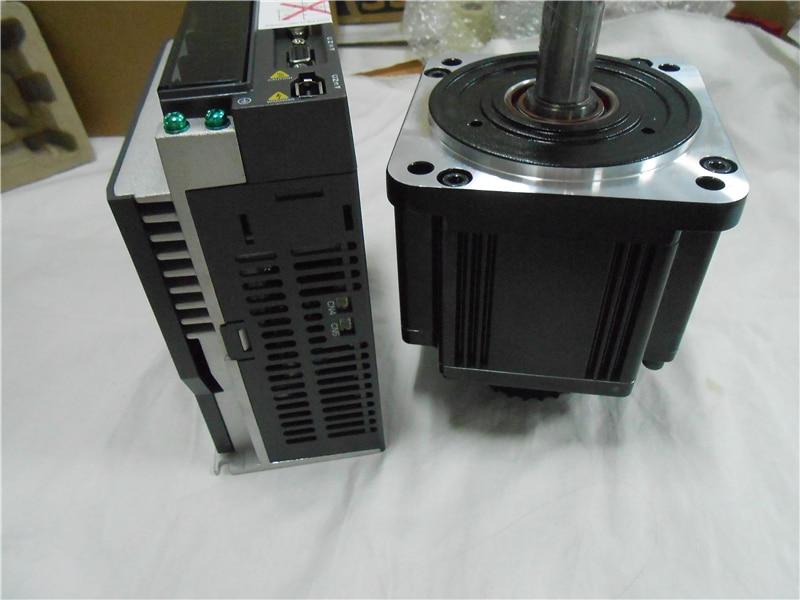 ECMA-K11320SS + ASD-A2-2043-M Delta 400V 2KW 9.55NM 2000r/min 130mm AC Servo Freno de chaveta Motor kits con cable de 3M
