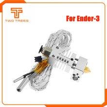 Hotend экструдер, набор, большое расстояние, V6 экструзия, 12 В/24 В, 50 Вт, j-головка, нагрев, горло, 1,75 мм, для Ender 3 CR10 CR-10S принтера