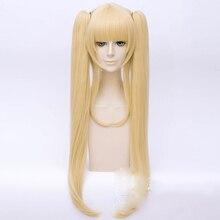 Eriri Spencer Sawamura Wig Cosplay Costume Blonde Golden Long Chip Ponytails Removable Synthetic Saenai Heroine No Sodatekata Wi