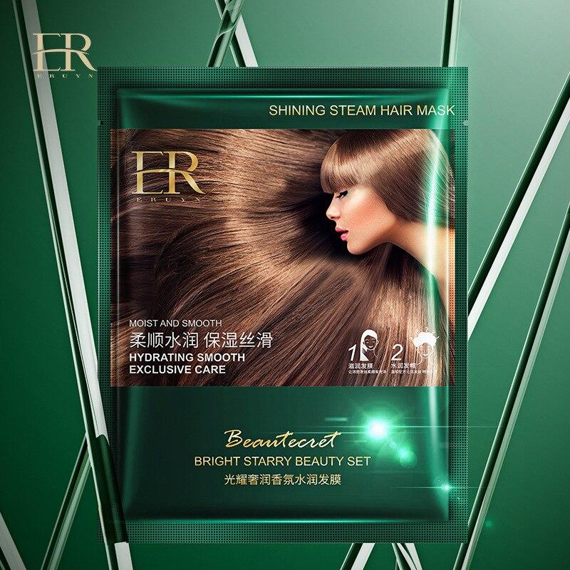 Mascarilla para el cabello con fragancia de lujo, mascarilla hidratante para cabello rizado, Gel de peluquería, acondicionador para el cabello