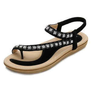 Sandal Woman Comfy Slip On Sandals Women Roman Sandal Casual Beach Shoes For Woman Classics Non-slip Lightweight Sandals