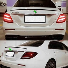 FOR Benz E-class W213 Accessory Spoiler AMG Style E200 E300 E320 Sedan ABS Material Car Trunk Wings