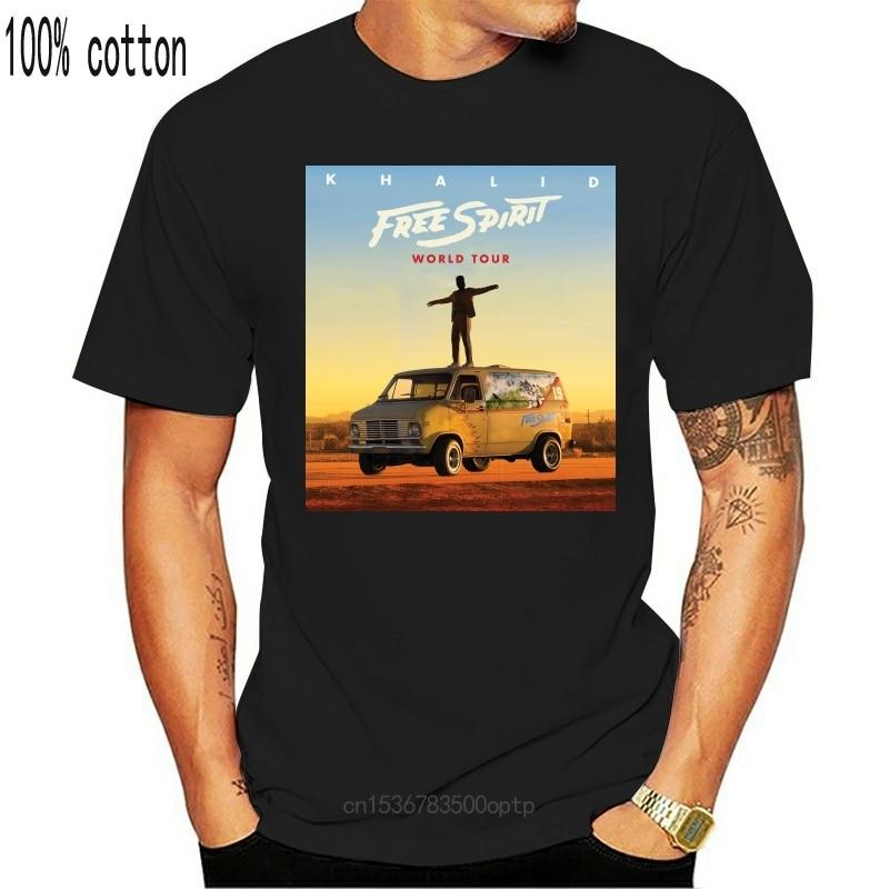 New Khalid Free Spirit World Tour Unisex T-Shirt Full Size S-3XL