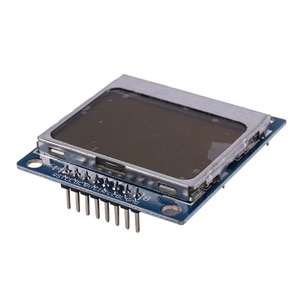 Smart Electronics Lcd Module Display Monitor Blue Backlight Adapter Pcb 84x48 Lcd for Nokia 5110 Screen For Arduino