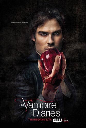 Ian somerhalder o vampiro diários quente estrela de seda cartaz pintura de parede 24x36inch