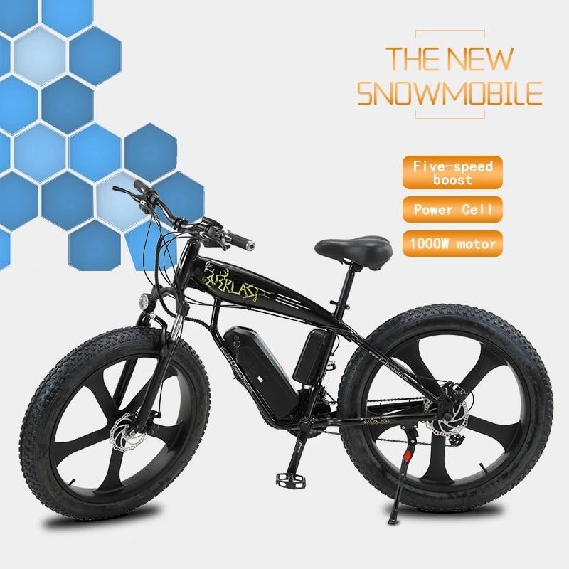 2021 nuevo neumático gordo 50 km/h rápido Bicicleta eléctrica Motor de 750W...