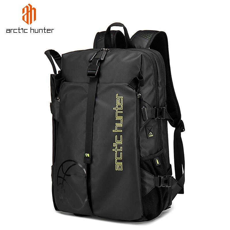 ARCTIC HUNTER-حقيبة سفر للرجال ، حقيبة سفر ذات سعة كبيرة مع أحذية ، حقيبة كرة سلة للرجال ، حقيبة لياقة بدنية