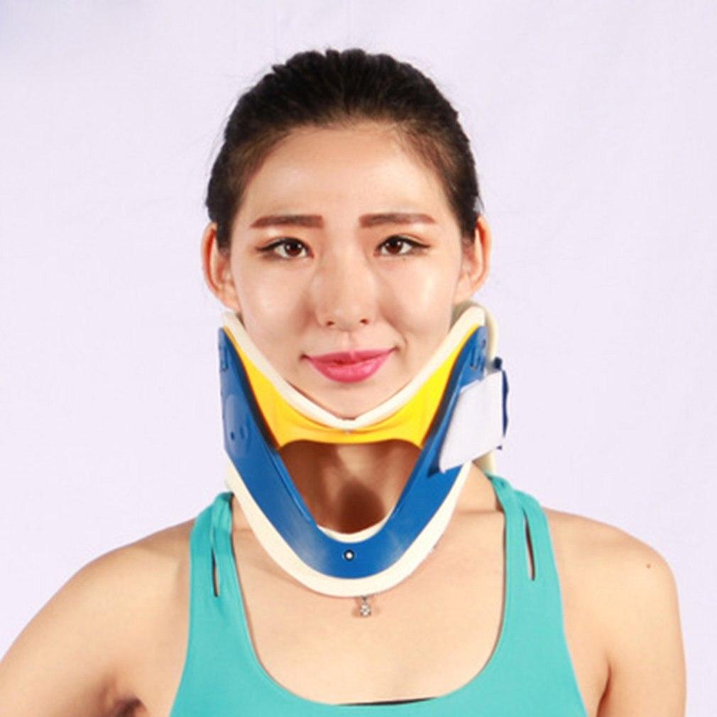Respirable cuello ortesis médica Collar Cervical cuello inmovilizador dolor de cuello Tractor órtesis soportes nueva venta