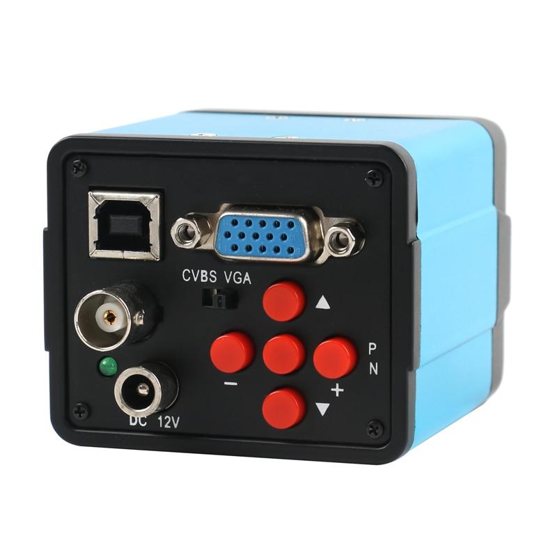 كاميرا FHD 1080P 3 في 1 VGA USB BNC AV TV الصناعية C كاميرا فيديو إلكترونية مجهرية رقمية لإصلاح الهاتف المعمل PCB مصلحة الارصاد الجوية