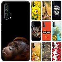 for huawei honor 20 pro phone case for honor 20 case soft tpu silicone back cover for huawei honor 20 lite soft cover bumper