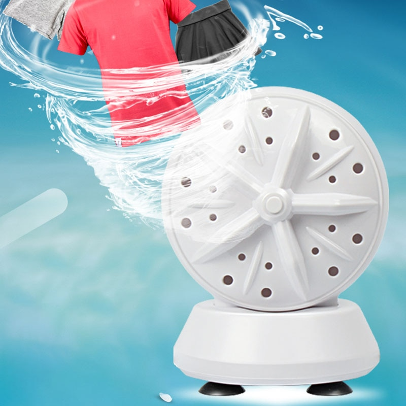 Mini Washing Machine Portable Removes Dirt Washer USB Cable for Travel Home Business Trip