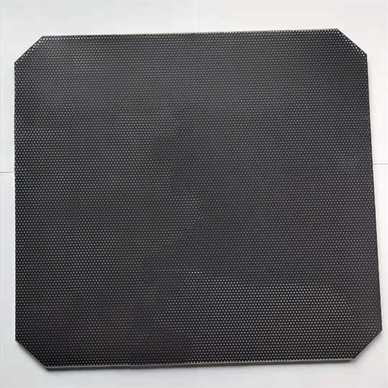 Ender3 Pro hotbed Ultrabase tipo plataforma redonda Build superficie de vidrio forma de placa de 220*220mm para Wanhao i3 Duplcator 3D impresora