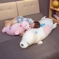 hot nice huggable soft world animal sea lion doll seal plush toy baby sleeping pillow kids stuffed toys gift