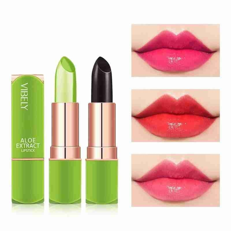 Warm Color Lipstick Moisturizing Warm Feeling Color Changing Jelly Lipstick Temperature Change Colors Lipsticks Lip Makeup