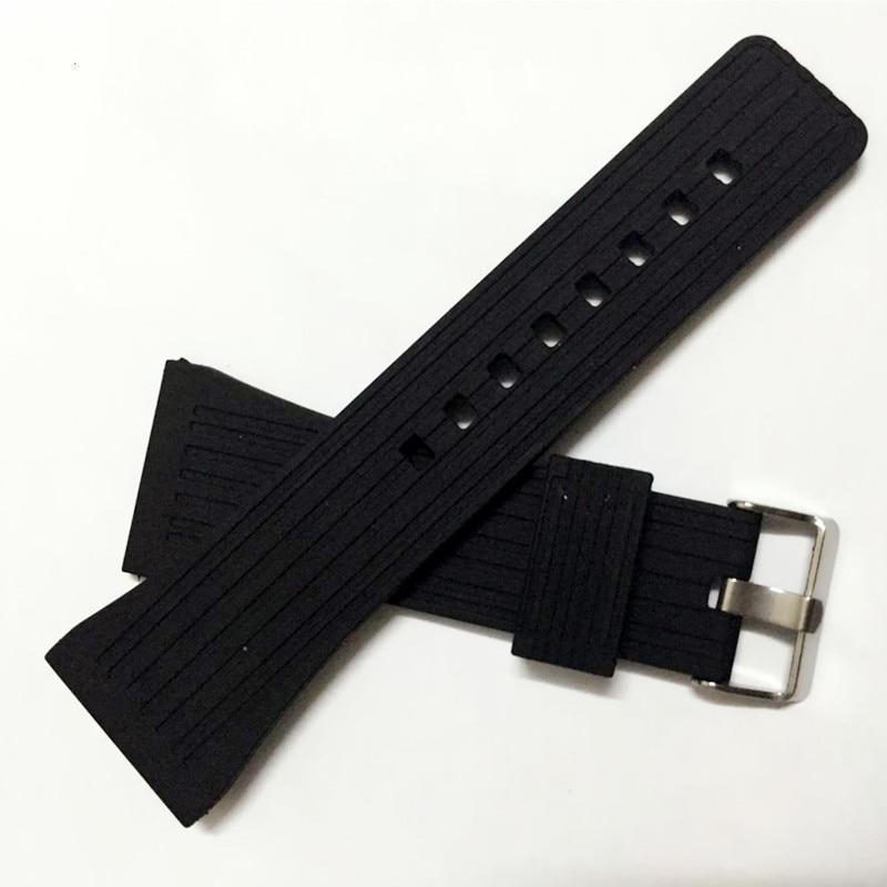 Correa de reloj de goma de silicona de 30mm correa de reloj impermeable accesorios de correa de reloj + herramienta