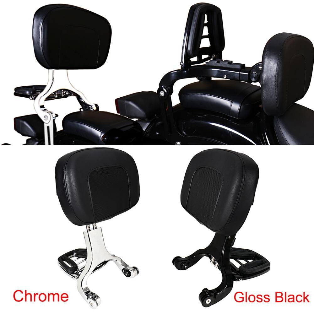 Backrest Motorcycle Multi-Purpose Driver Passenger Backrest For Harley Dyna Softail Breakout Sportster XL 883 Touring Road King