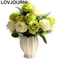 vaas suculenta gold blumenvasen jarron home decoration accessories modern vaso de flor jarrones decorativos moderno flower vase