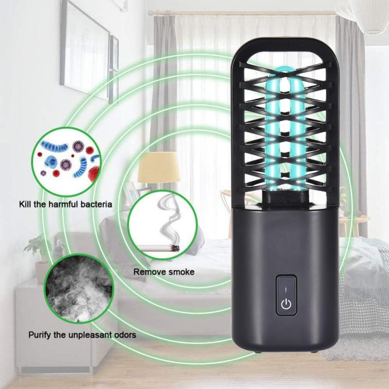 Varilla de esterilización UVC portátil, Esterilizador de luz UV para viaje, lámpara...