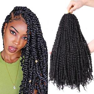 crochet passion twist hair pretwisted 18 inch 20 roots/pack passion twists Crochet Hair Extensions