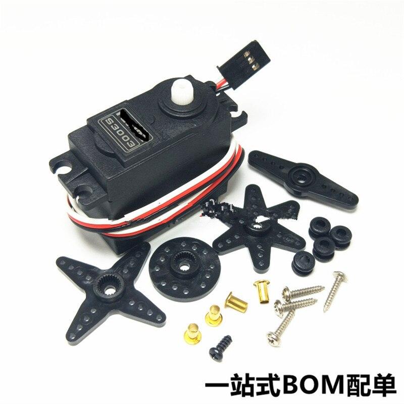 Engrenagem de direção marinha s3003/engrenagem de direção do robô/engrenagem de direção do veículo modelo dedicado 38g