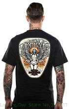 Camiseta para hombre a la moda de verano Lucky 13 Black evilin Biker Ninfa camiseta Mujer