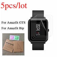 Защита экрана для смарт-часов Xiaomi Huami Amazfit Bip GTS 2 mini GTR 2, прозрачная пленка для смарт-часов Amazfit Bip, защита экрана, не стекло