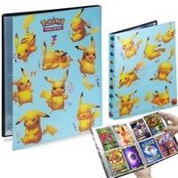 4 Pocket Pokemon Album 240 Card Holder Playing Game Book Livre Pokemon Binder Folder Loaded List Collection Pikachu Kids Toys