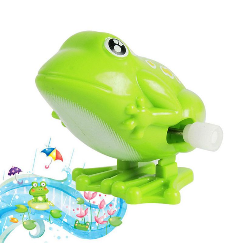 Juguetes de rana saltarina de cuerda para niños, juguete educativo para niños, Mini guardería 0-6T