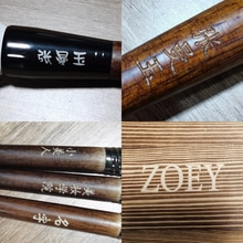 50pcs Makeup Brushes Customize Price Laser Marking Custom Your Text or Pattern Logo on Product
