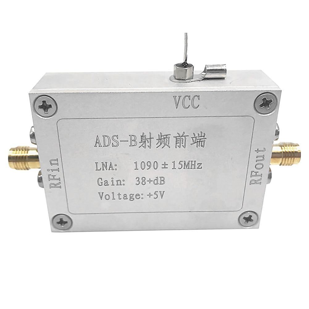 Ad B راديو وحدات اكسسوارات مضخم للترددات اللاسلكية (RF) منخفضة الضوضاء الكهربائية فيديو تردد أداة مستقرة الجبهة نهاية 1090 MHz إشارة الطاقة