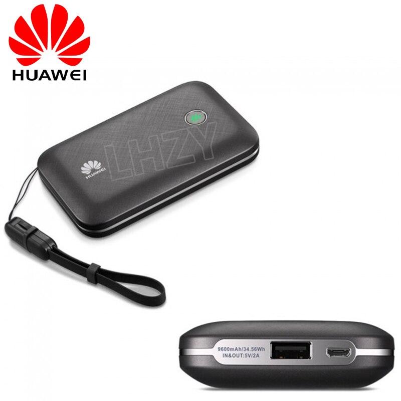 Desbloqueado Huawei E5771 E5771h-937 9600mAh Banco de la energía de 4G LTE MIFI módem WiFi 4G Router de acceso móvil PK E5770 E5786 E5377 MF855