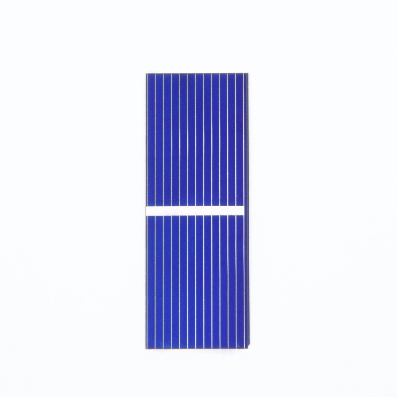 100 Uds 0,5 V 320mA Panel de energía Solar portátil cargador para carga de batería