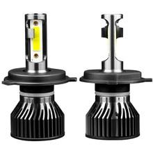 LED Voiture Phares Ampoules H1 H3 H11 H8 HB3 HB4 H4 H7 Pas Dinterférence Radio Erreur EMC 50W 10000LM 6000K 4300K 8000K 12V