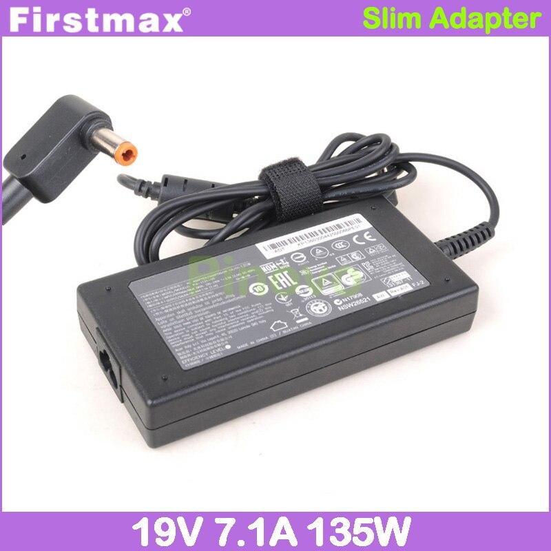 Firstmax ac adaptador 19v 7.1a carregador do portátil para acer aspire v 15 nitro VN7-591G VN7-591 VN7-791G VN7-791 9816 9920 9920g