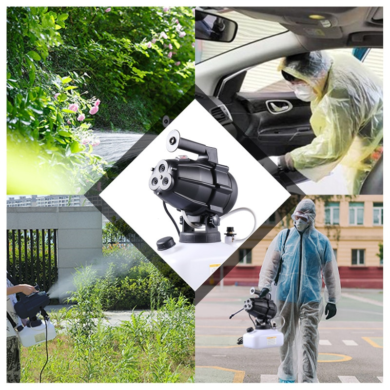 Electric Sprayer Garden Cold Fog Machine And Mosquito Coil Sprayer Portable Intelligent Electric Cold Fog Machine 5000ML enlarge