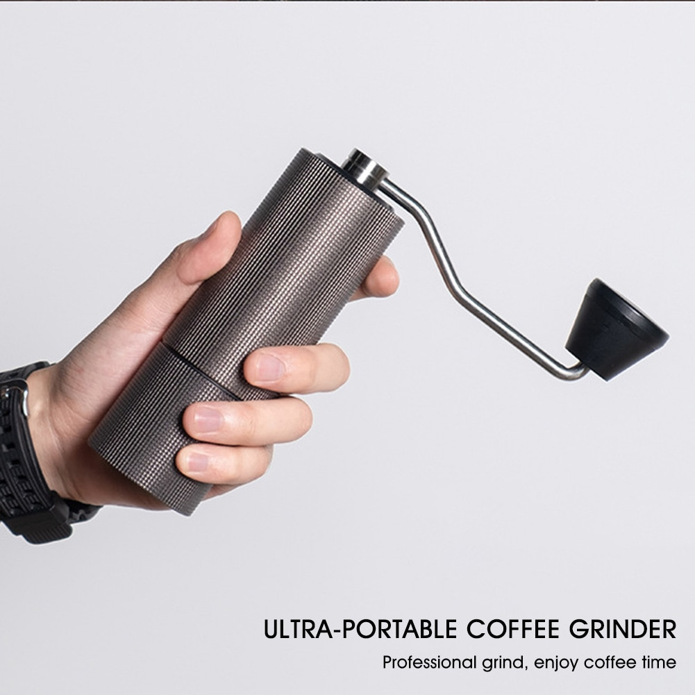 Manual Coffee Grinder Portable High-Quality Hand Coffee Mill with Adjustable Coarseness Capacity 25g Stainless Steel Kitchen
