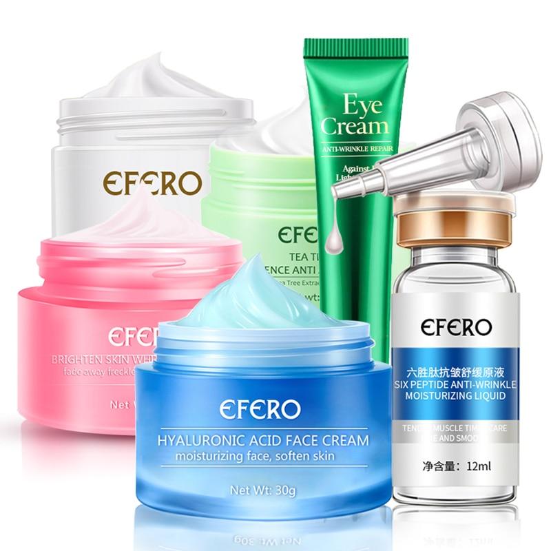 Remove Freckle Face Cream Whitening Snail Repair Hyaluronic Acid Green Tea Anti Acne Black Spots Collagen Eye Cream Eye Mask Gel