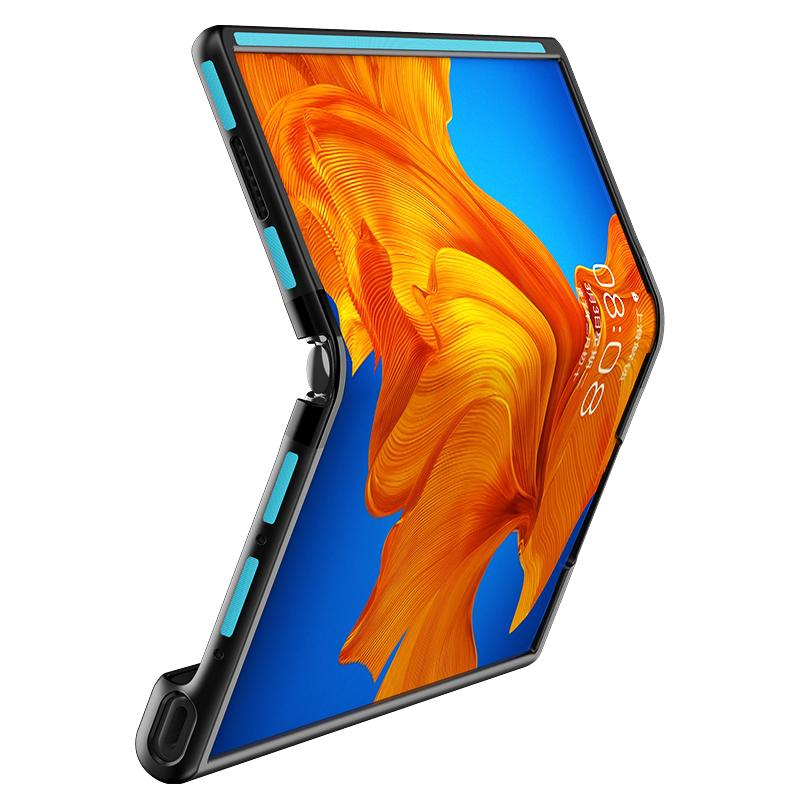 غطاء حماية لهاتف Huawei Mate XS/X ، جراب هاتف خلوي بإطار قابل للطي ، شامل كليًا ، مضاد للسقوط