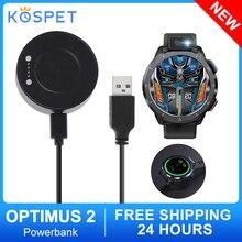 1/2/5pcs Powerbank 1000mAh Wireless Charger Mini Power Bank For Kospet Optimus 2 Smart Watch Magneti