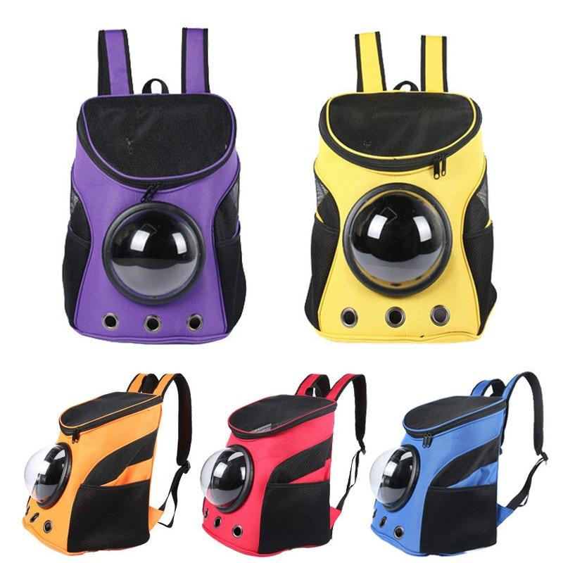 Mochila de cápsula espacial para mascotas de bolsa de viaje portátil para...