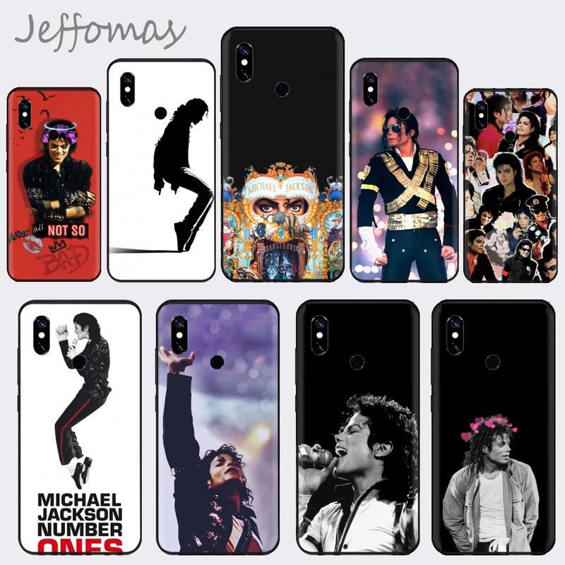 MJ Michael jackson Fazer Coque Shell etui na telefon do Xiaomi Redmi 4x5 plus 6A 7 7A 8 mi8 8lite 9 uwaga 4 5 7 8 pro